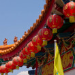 Chinese temple roof. — Stock Photo