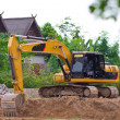 Stock Photo: Backhoe Service