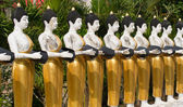 Buddha statues — Stock Photo