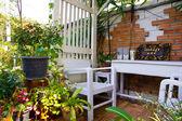Relaxation corner — Stock Photo