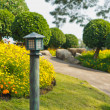 Garden lamp — Stock Photo #38861717