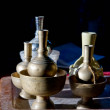 Solid Brass water pitcher — Stock Photo #42406445