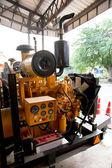 Vintage machine engine — Foto Stock