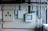 Electric system in cabinet  building system — Stockfoto
