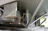 Edificio di controllo climatizzatore — Foto Stock