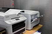 Documento della stampante nelle apparecchiature per ufficio — Foto Stock
