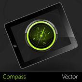 Сompass — Stock Vector