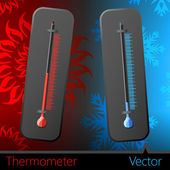 Thermometer — Stok Vektör