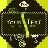Mesaj — Stok Vektör
