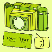 Camera — Stockvector
