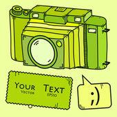 Camera — 图库矢量图片