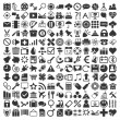 Many icons — Stock Vector #29937411