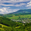 View from the top to a small town — Stock Photo #19591583
