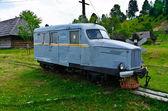 Vintage auto-tren — Foto de Stock