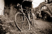 Old rusty vintage car — ストック写真