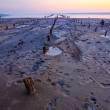 Tidal defences at dusk — Stock Photo #29838747