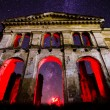 Red portal of times — Stockfoto