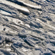 Frozen water - nature ice ocean texture — Stock Photo