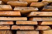 Plankor av trä block konsistens — Stockfoto