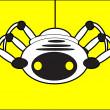 Robot spider — Stock Vector