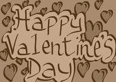 Happy Valentines Day vintage — Zdjęcie stockowe