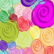 Stock Photo: Colorful spirals