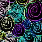 Neon Spirals — Stock Photo #39850501