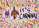 It's Carnival — Foto de Stock