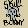 Stock Photo: Skull bunny