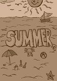 Sztuka lato — Zdjęcie stockowe
