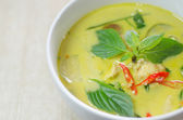 Green chicken curry — Stock Photo