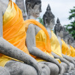 Old Temple Wat Yai Chai Mongkhon of Ayuthaya — Foto Stock