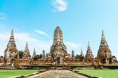 Chaiwatthanaram temple at Ayutthaya in Thailand — Stock Photo