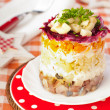 Herring salad — Stock Photo #18527019