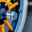Model A Wheel - Stock Photo