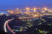 Port of Taipei — Stock Photo