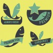 Set of seafood icons — Stock Vector #46254809