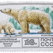 Old postage stamp - Stock Photo