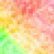 Colorful large pixels abstract pattern background — Stock Photo