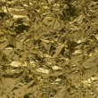Royalty-Free Stock Photo: Texture of golden foil