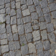 Rough texture of block pavement - Stockfoto