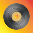Stock Photo: Vector vinyl record