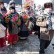 Stock Photo: PENZA, RUSSIA - February 14. Celebration of Shrovetide (Maslenit