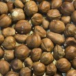 Heap of hazelnut as a background - Stock Photo