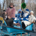 PENZA, RUSSIA - February 14. Celebration of Shrovetide (Maslenit — Stock Photo #17676265