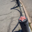 Pole on street — Photo