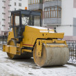 Stock Photo: Asphalt roller
