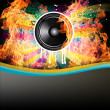 Stock Photo: Rainbow Colorful Discotheque Event Flyer