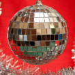 Christmas mirror ball — Stockfoto