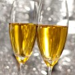 Two glasses of champagne — Stock Photo #17677947